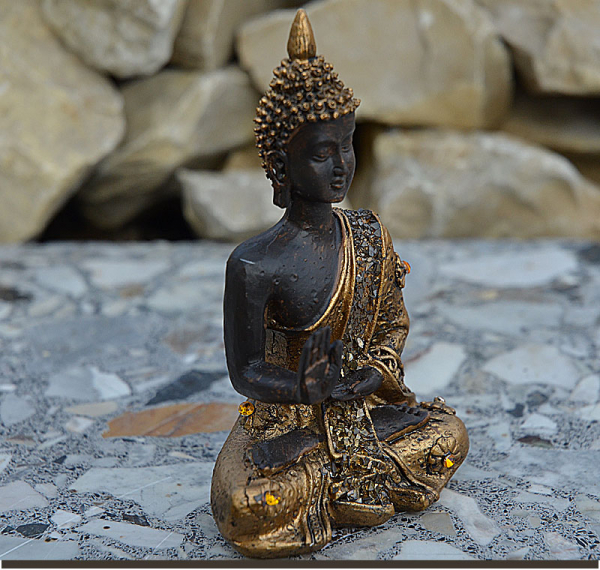 buddhawelt thai buddha im lotussitz figur 2 h he 10 cm. Black Bedroom Furniture Sets. Home Design Ideas
